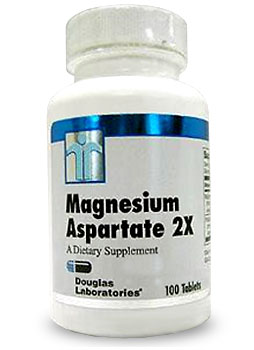 Photo of Douglas Laboratories Magnesium Aspartate 2x as found at gfchiro.com