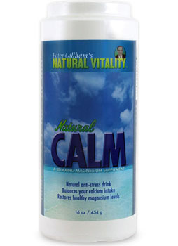 Photo of Peter Gillham's Natural Vitality Natural Calm as found at gfchiro.com